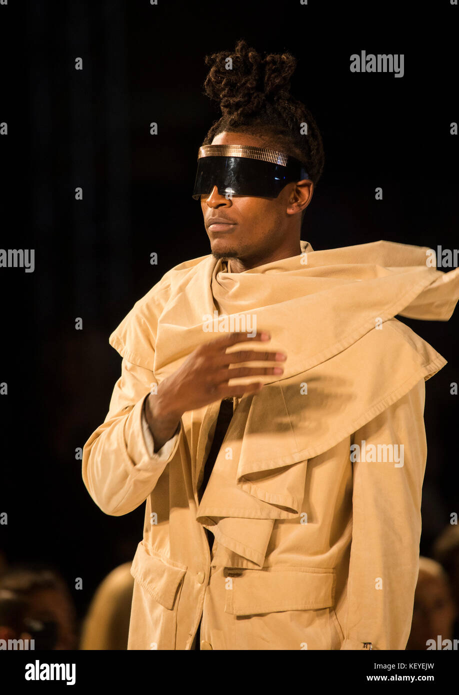Andre Emery Runway Show Style Fashion Week Pacific Design Center Stock Photo Alamy