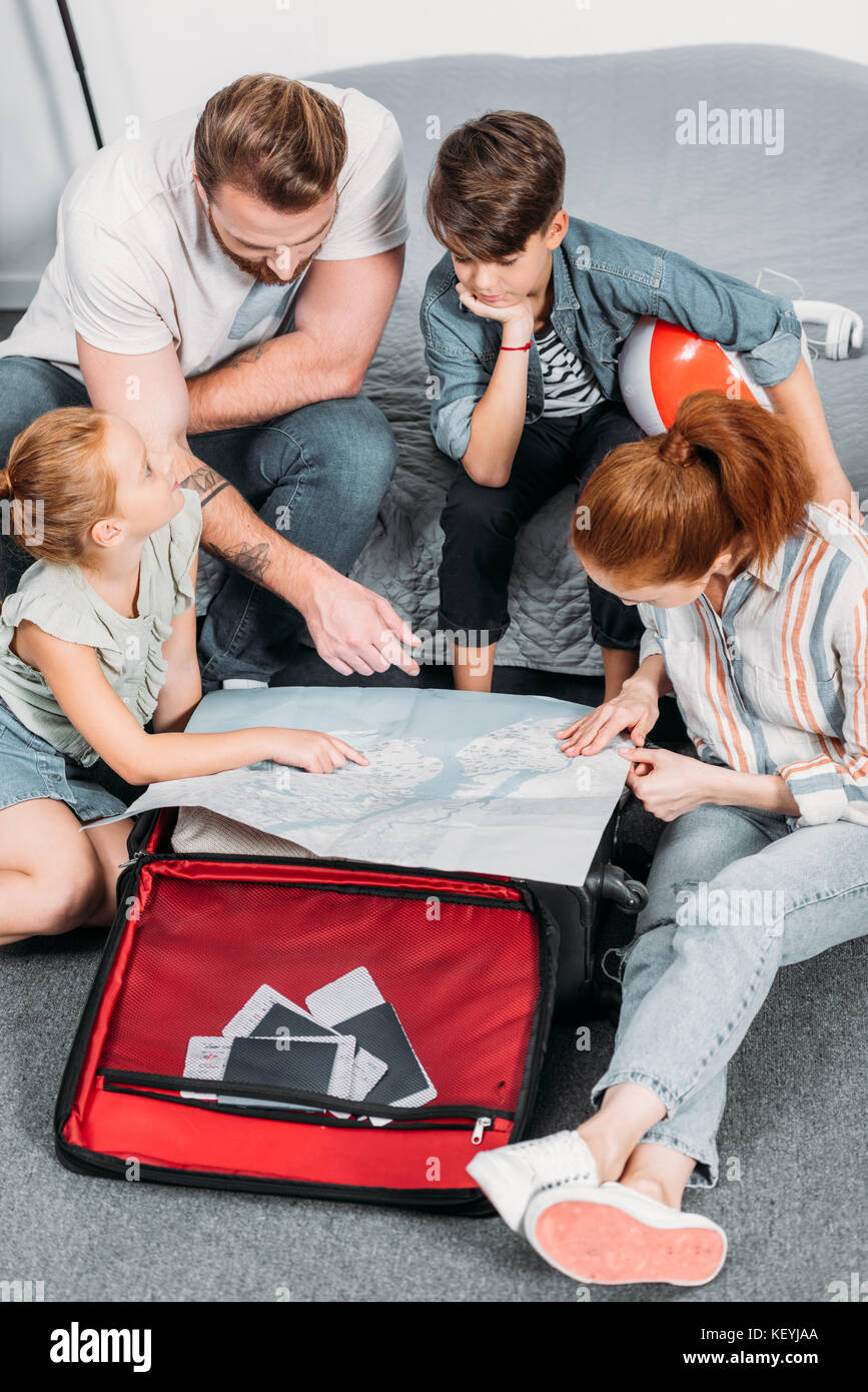 family planning trip - Stock Image