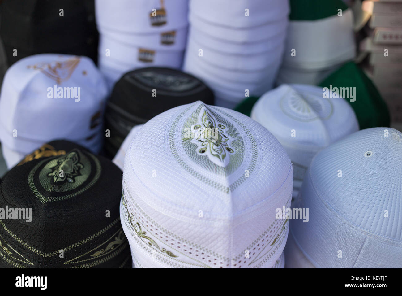 34ec7e0b99e00 keffiyeh skull caps sell in the market. keffiyeh skull cap is a national  islamic headdress