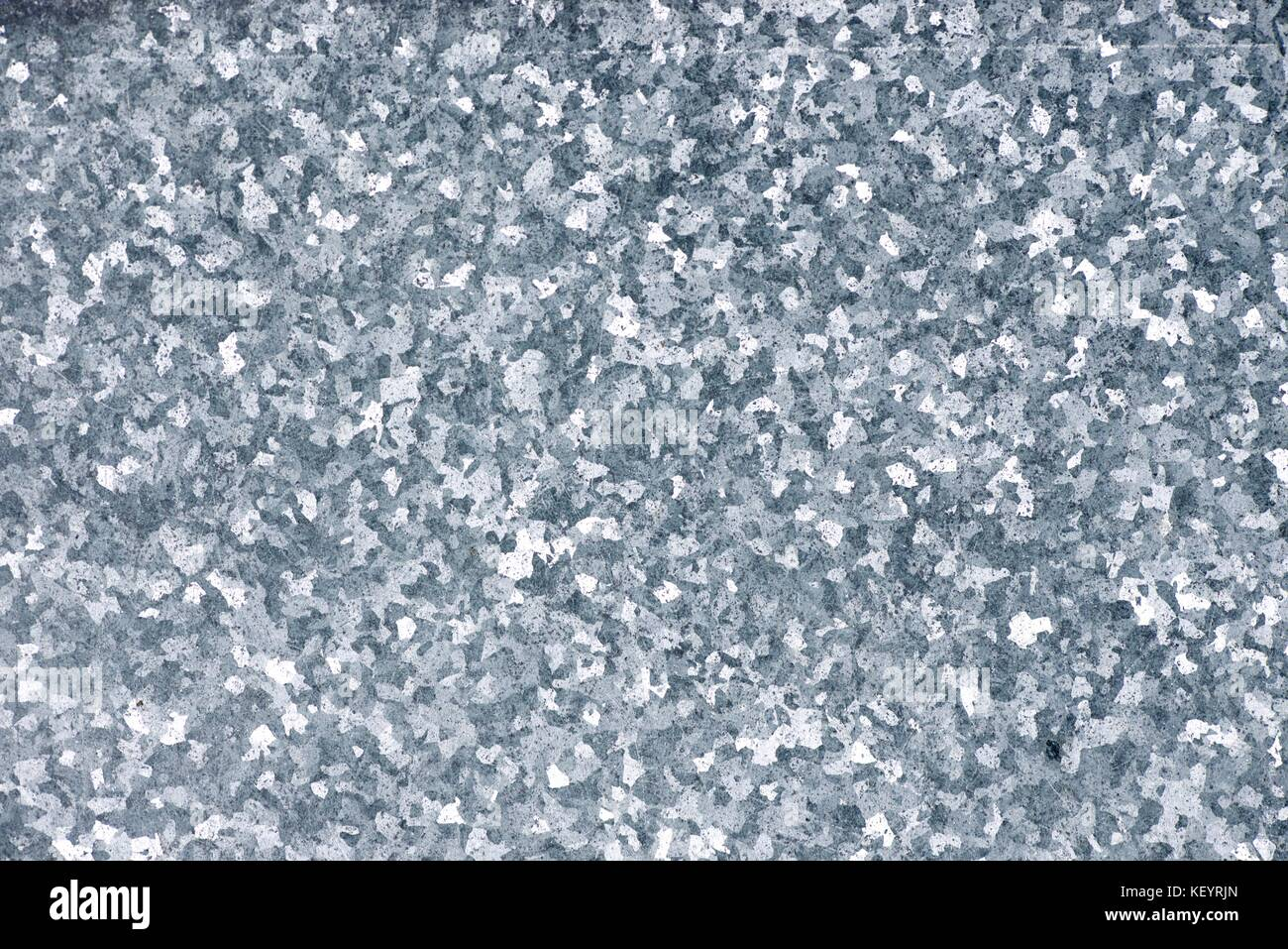 galvanized sheet background close up at high resolution - Stock Image