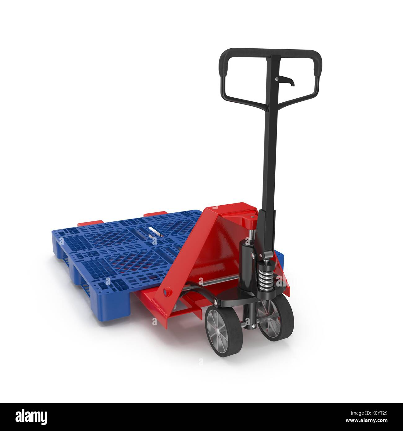 Empty Forklift Pallet Stock Photos & Empty Forklift Pallet Stock ...