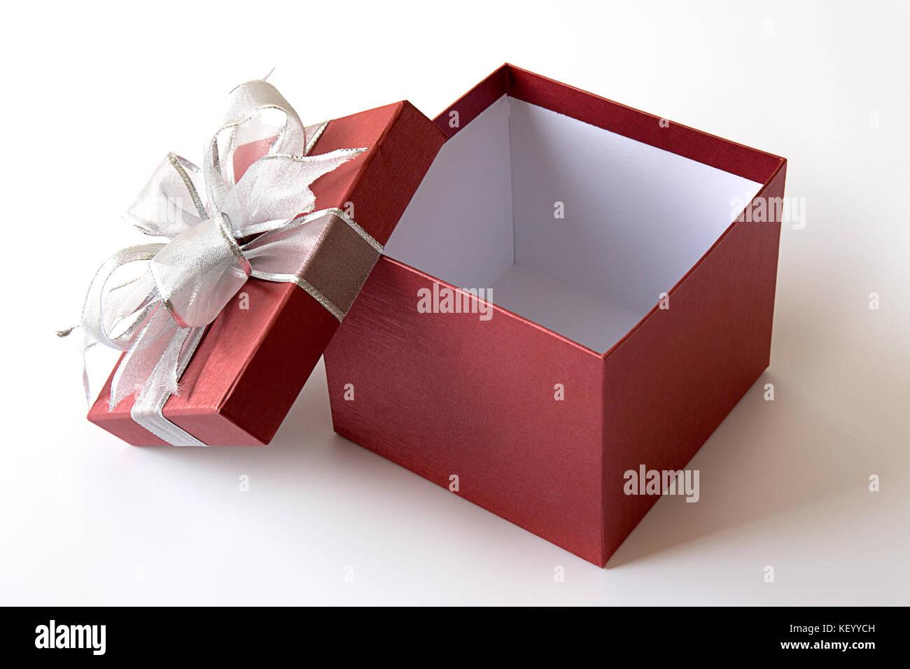 Gift Box Christmas Happy Holiday Greeting Card Anniversary Stock