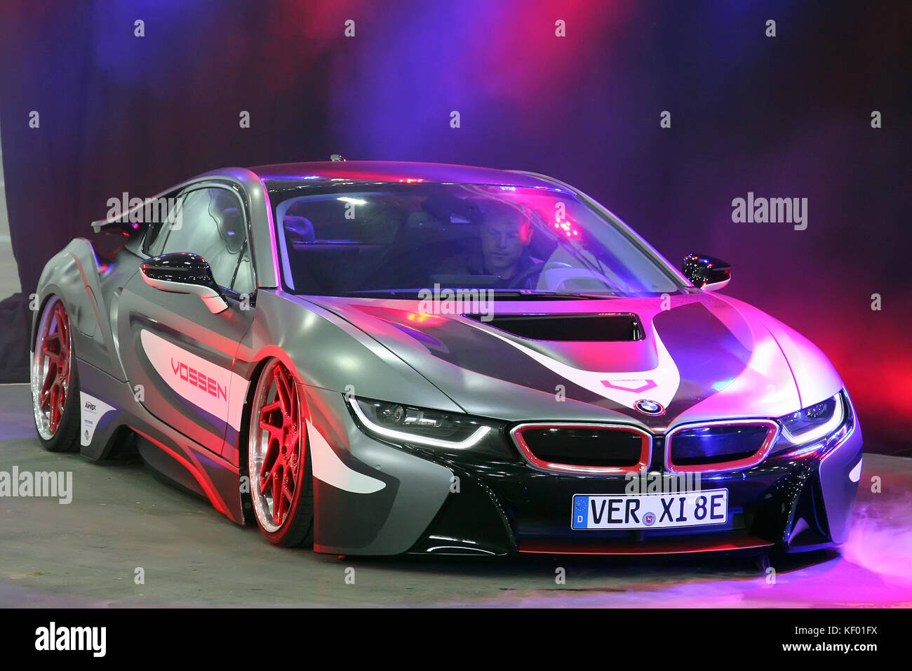 Essen Germany 23rd Oct 2017 Bmw I8 On Display At The Essen Motor