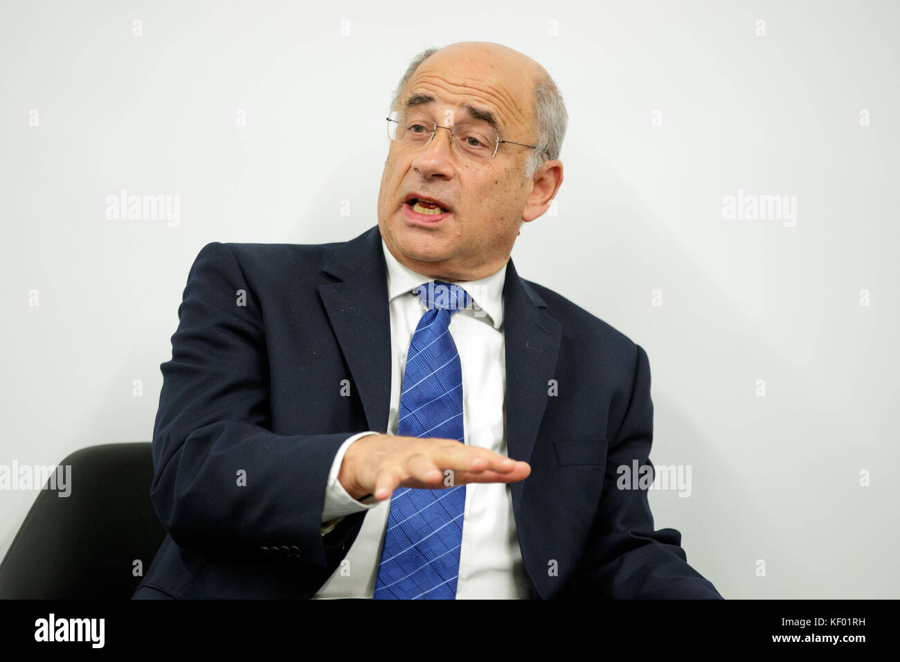 Sir Brian Leveson PC - An English judge who chaired the public inquiry into the culture, practices and ethics of - Stock Image