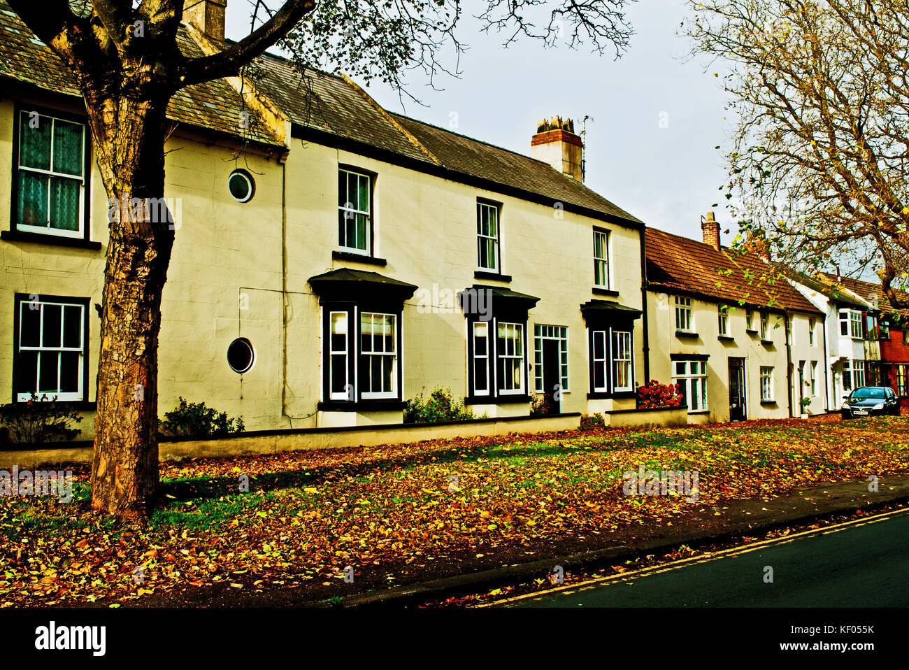 North End, Sedgefield, County Durham - Stock Image