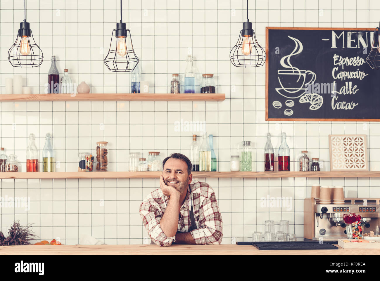 cafe - Stock Image