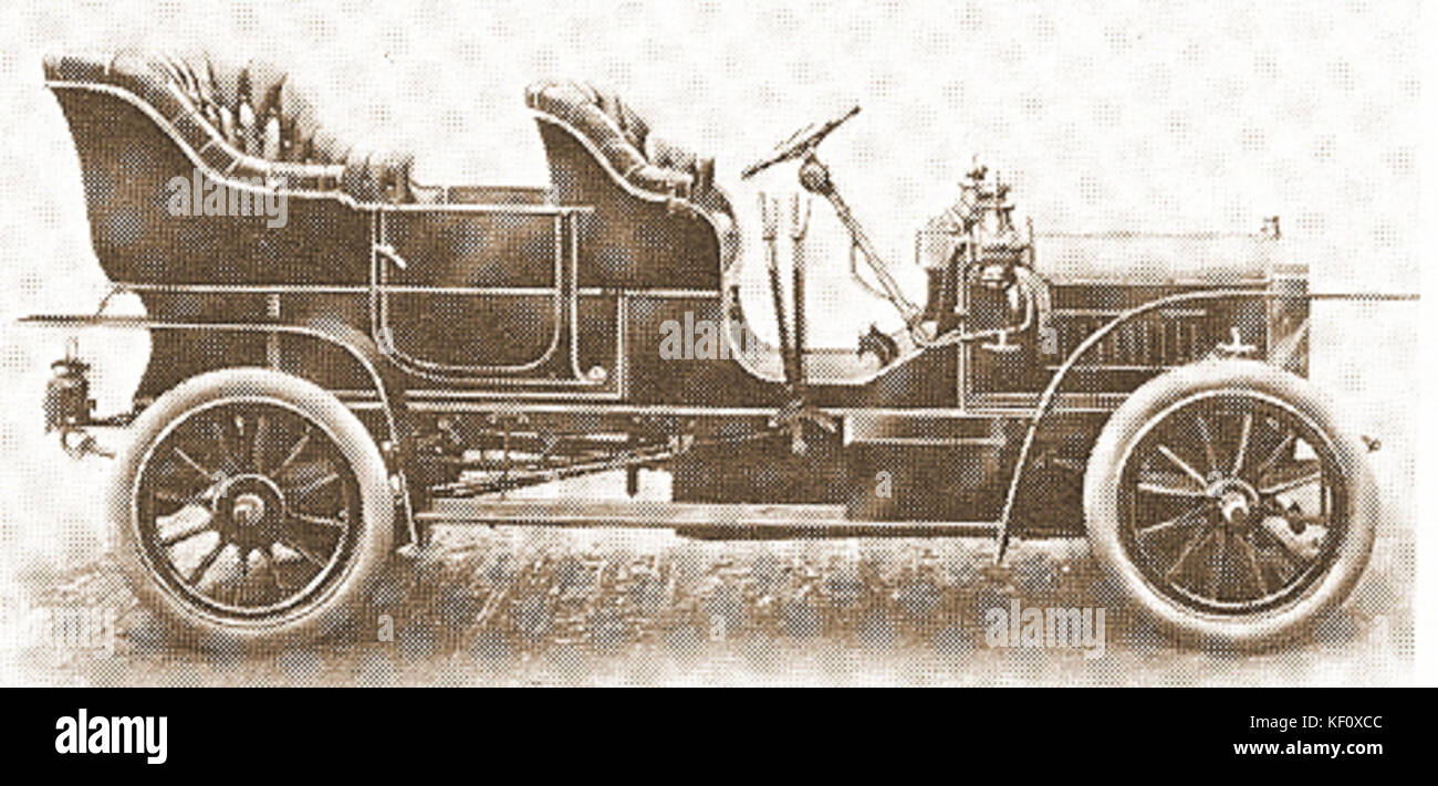 MHV Scout 20 hp 1908 - Stock Image