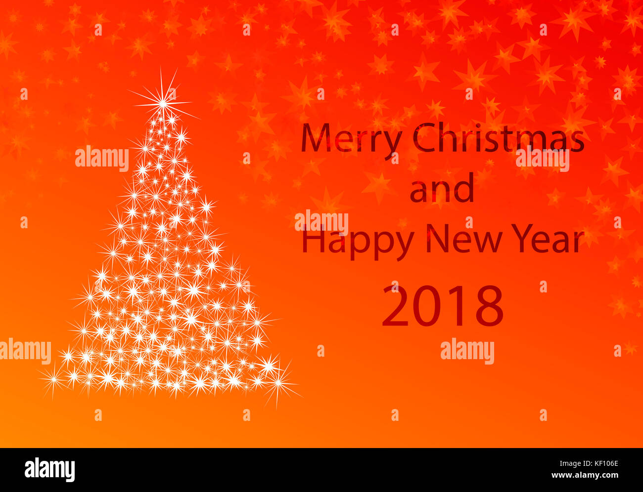 2018 card stock photos 2018 card stock images alamy xmas greeting card for new years 2018 stock image m4hsunfo