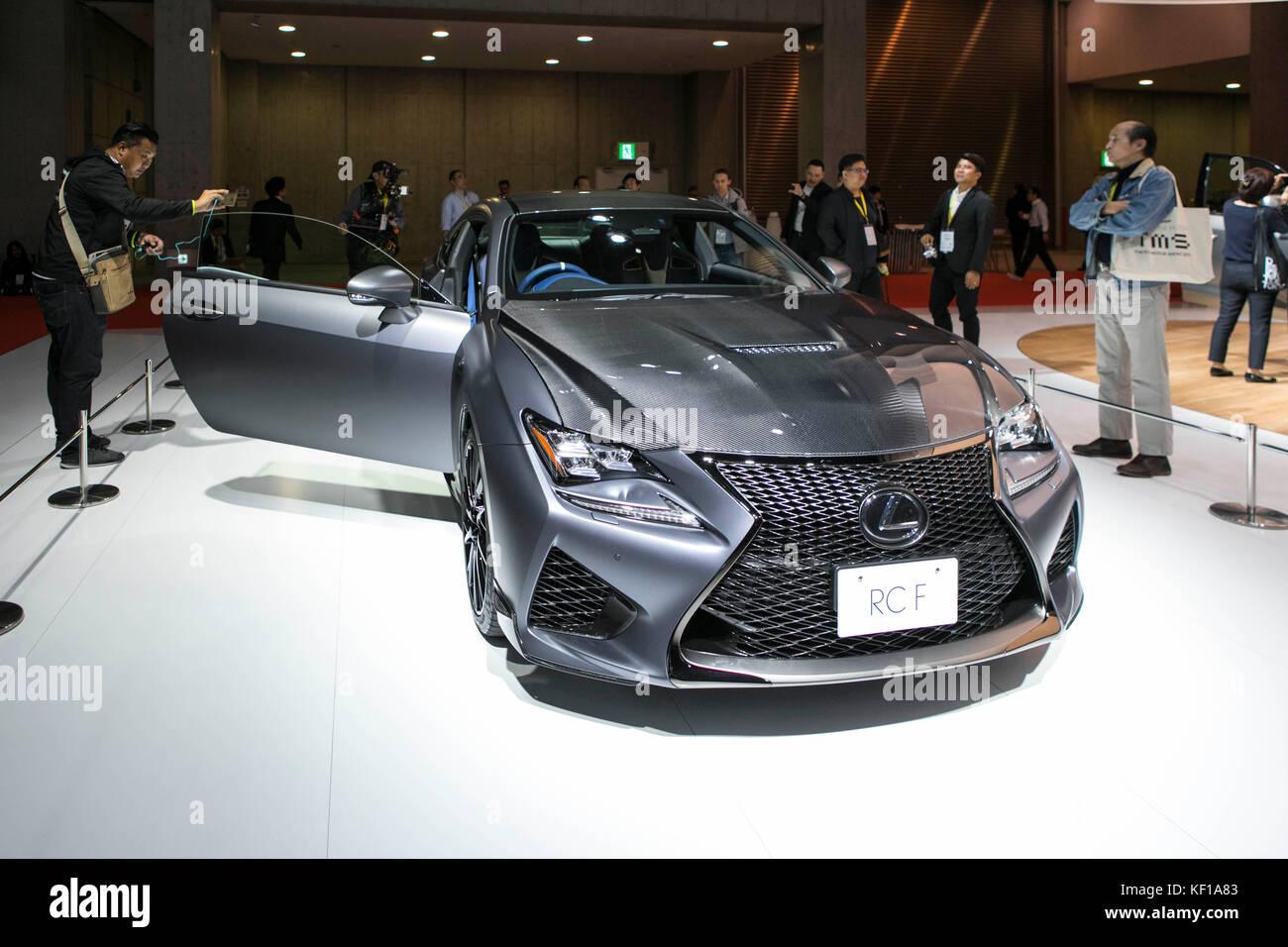 Lexus presents its new concept cars at 45th Tokyo Motor Show. Credit: Yuichiro Tashiro /Alamy Live News Stock Photo