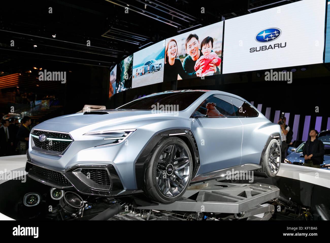 Tokyo Japan 25th Oct 2017 The New Subaru Viziv