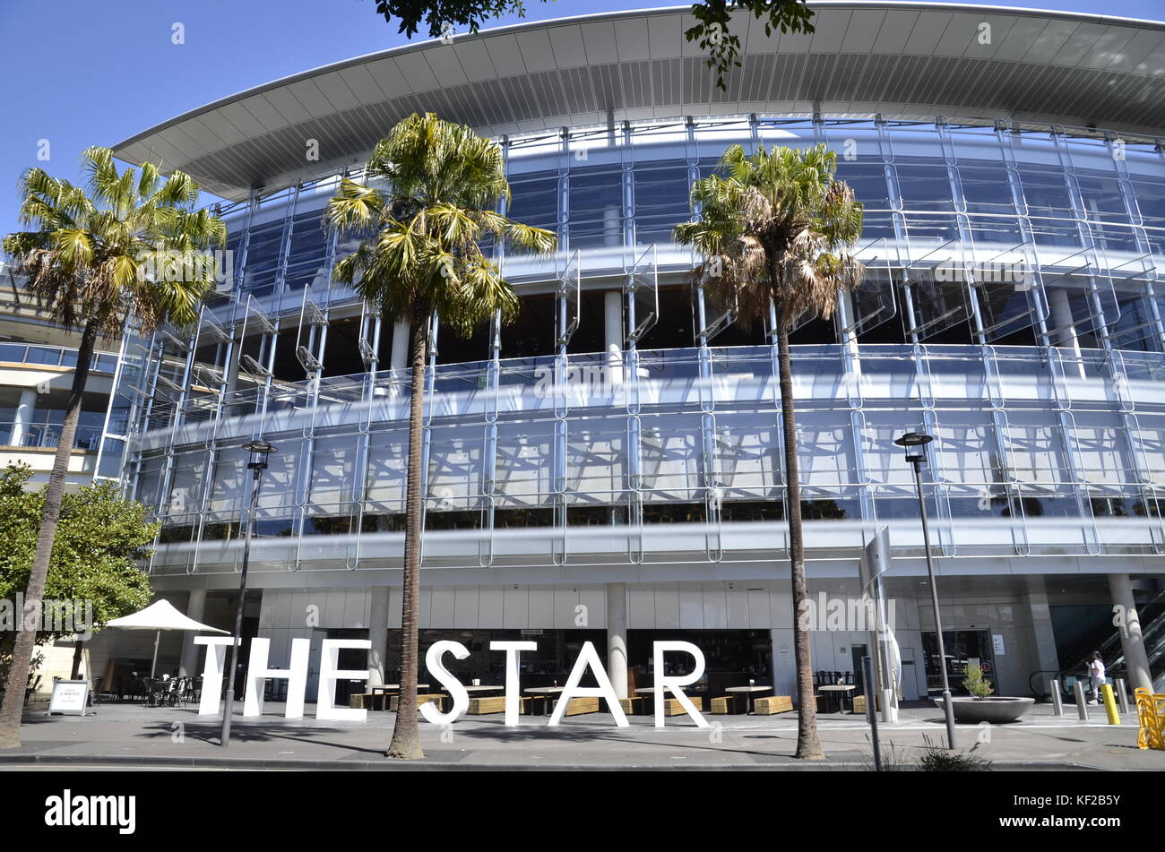 The Star Casino And Leisure Resort In Pyrmont Sydney Stock Photo