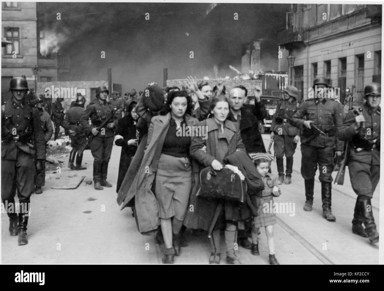 Stroop Report Warsaw Ghetto Uprising 10 Stock Photo - Alamy