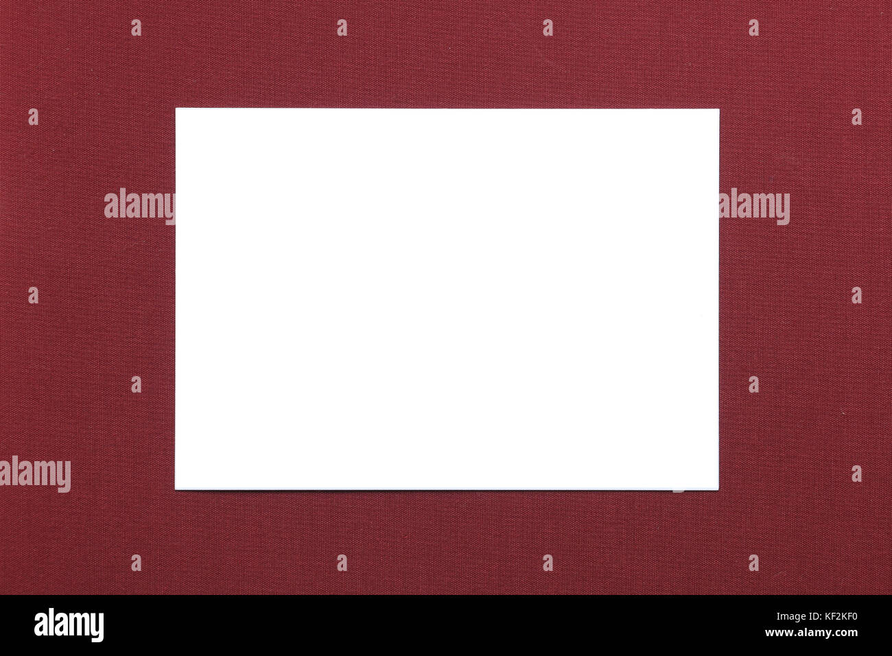 Blank Business Card On Table Stock Photos Blank Business Card On