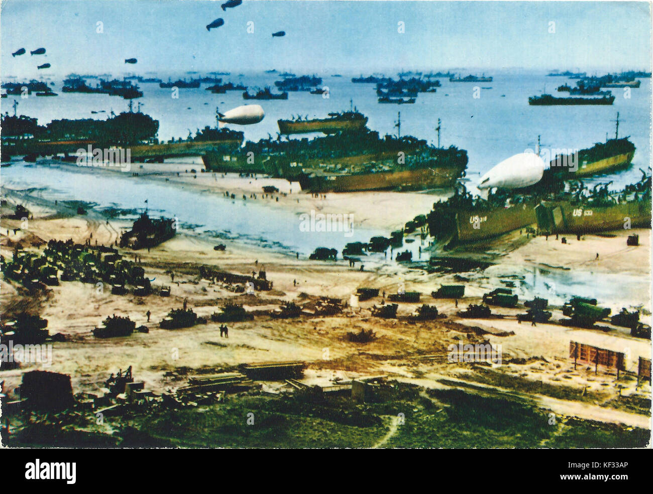 Operation overlord 6 juni 1944 Stock Photo