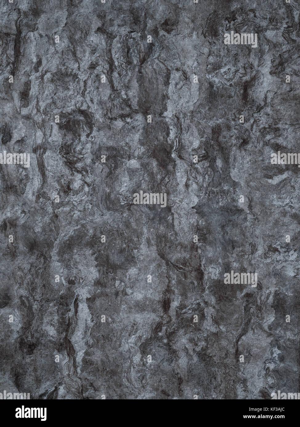 Organic grey cork wood background texture - Stock Image