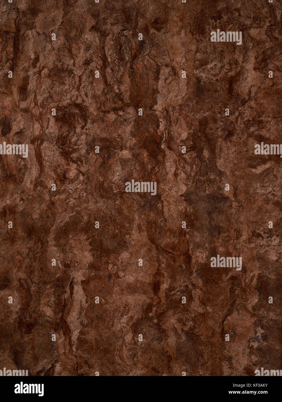 Organic brown cork wood background texture - Stock Image