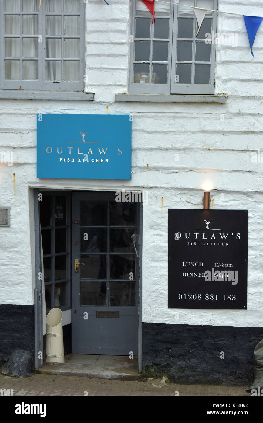 The restaurant in port isaac north cornwall run by tv chef Nathan ...
