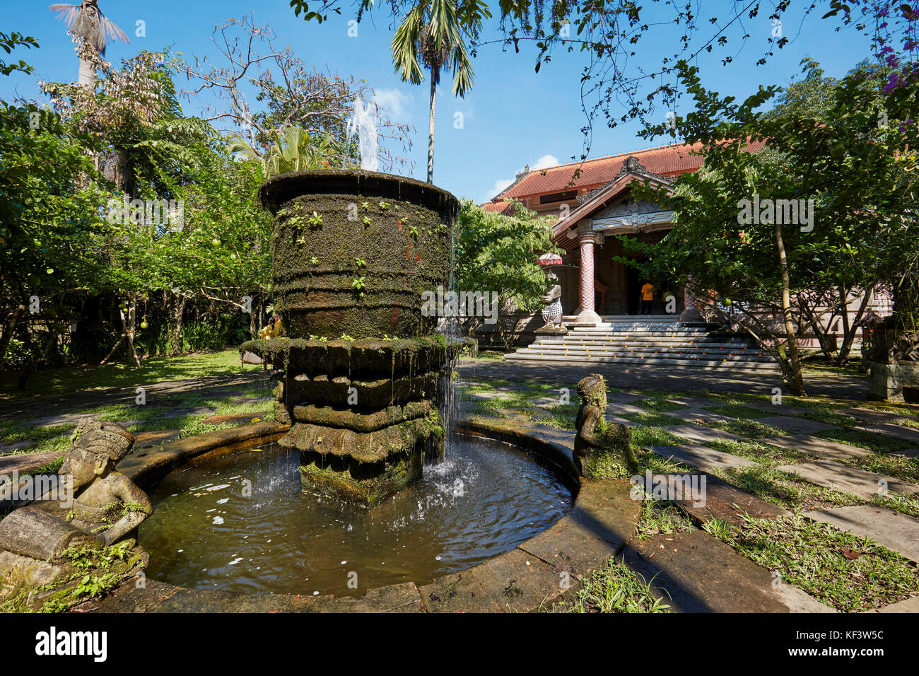 Garden of the Agung Rai Museum of Art (ARMA). Ubud, Bali, Indonesia. - Stock Image