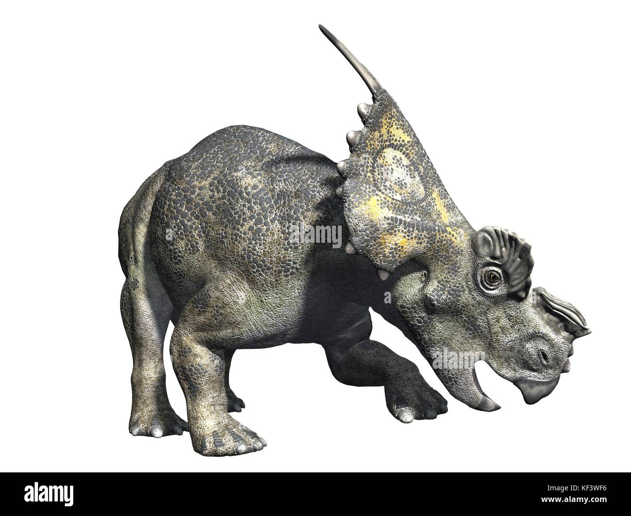 original 3d render of dinosaur Stock Photo