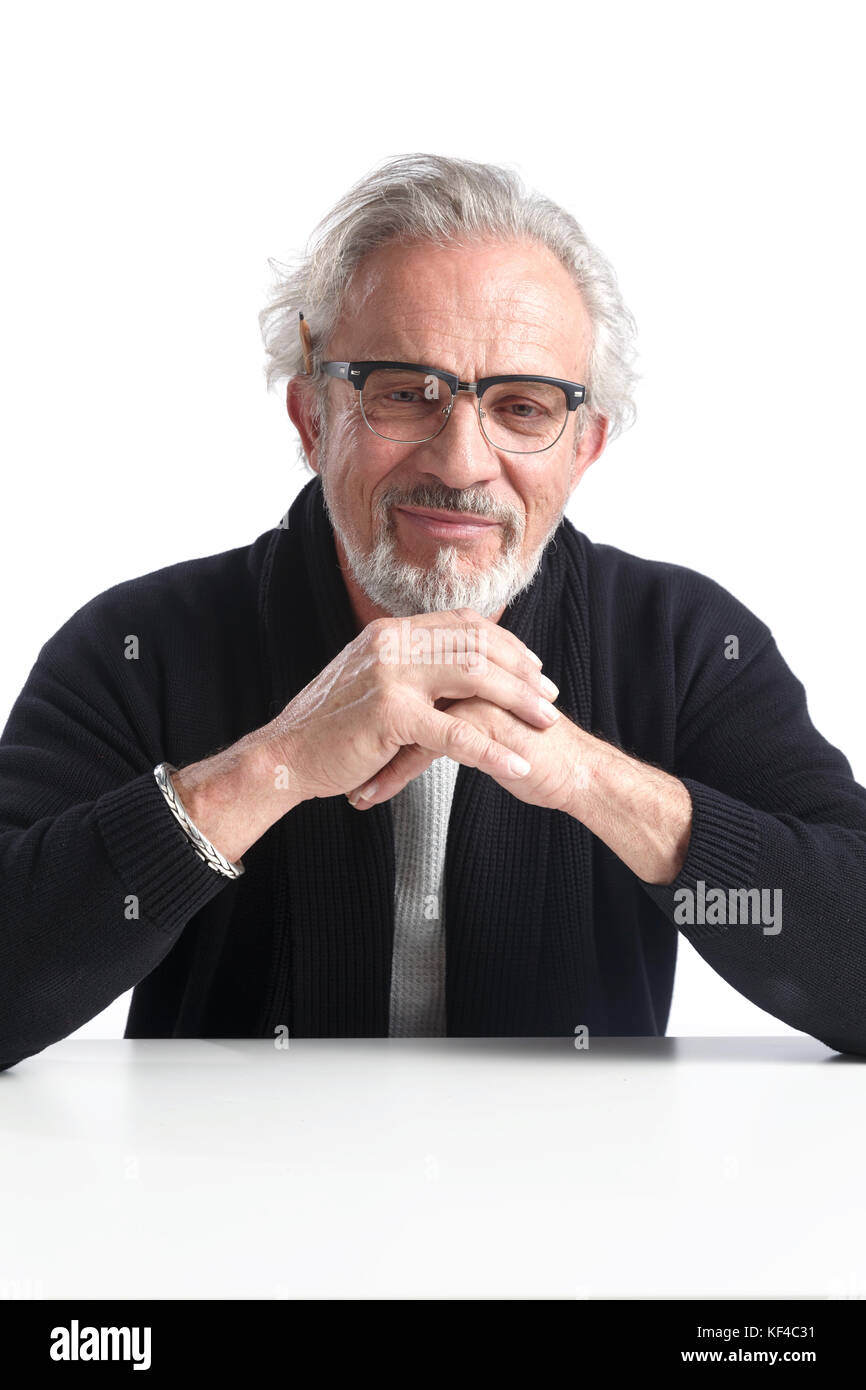 The old man of leisure - Stock Image