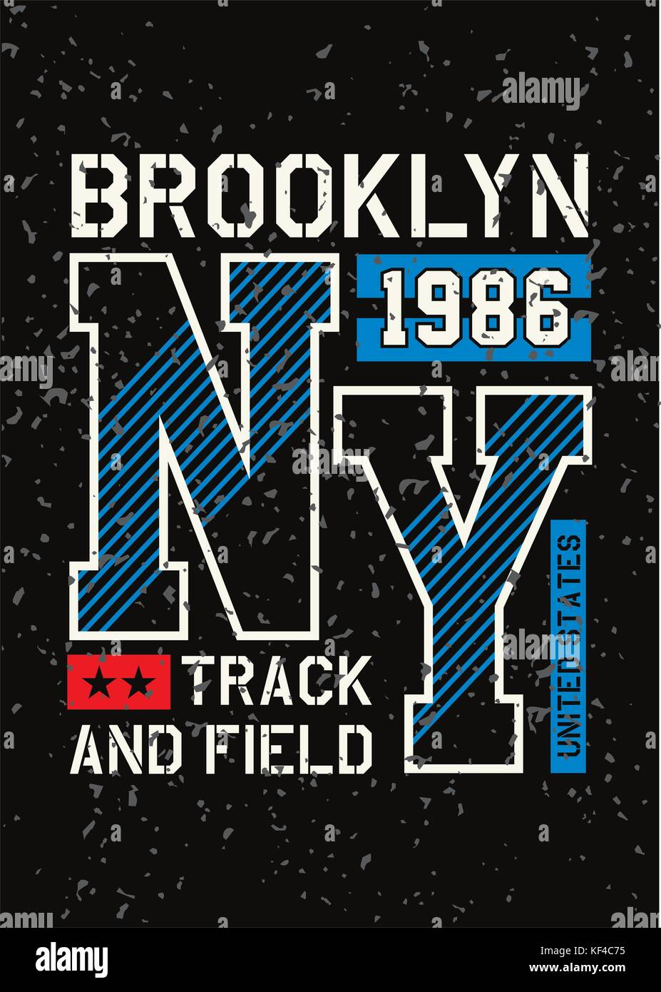 ee04e112 athletic new york typography design for t shirt print. Varsity style. T- shirt graphic. Vector illustrations