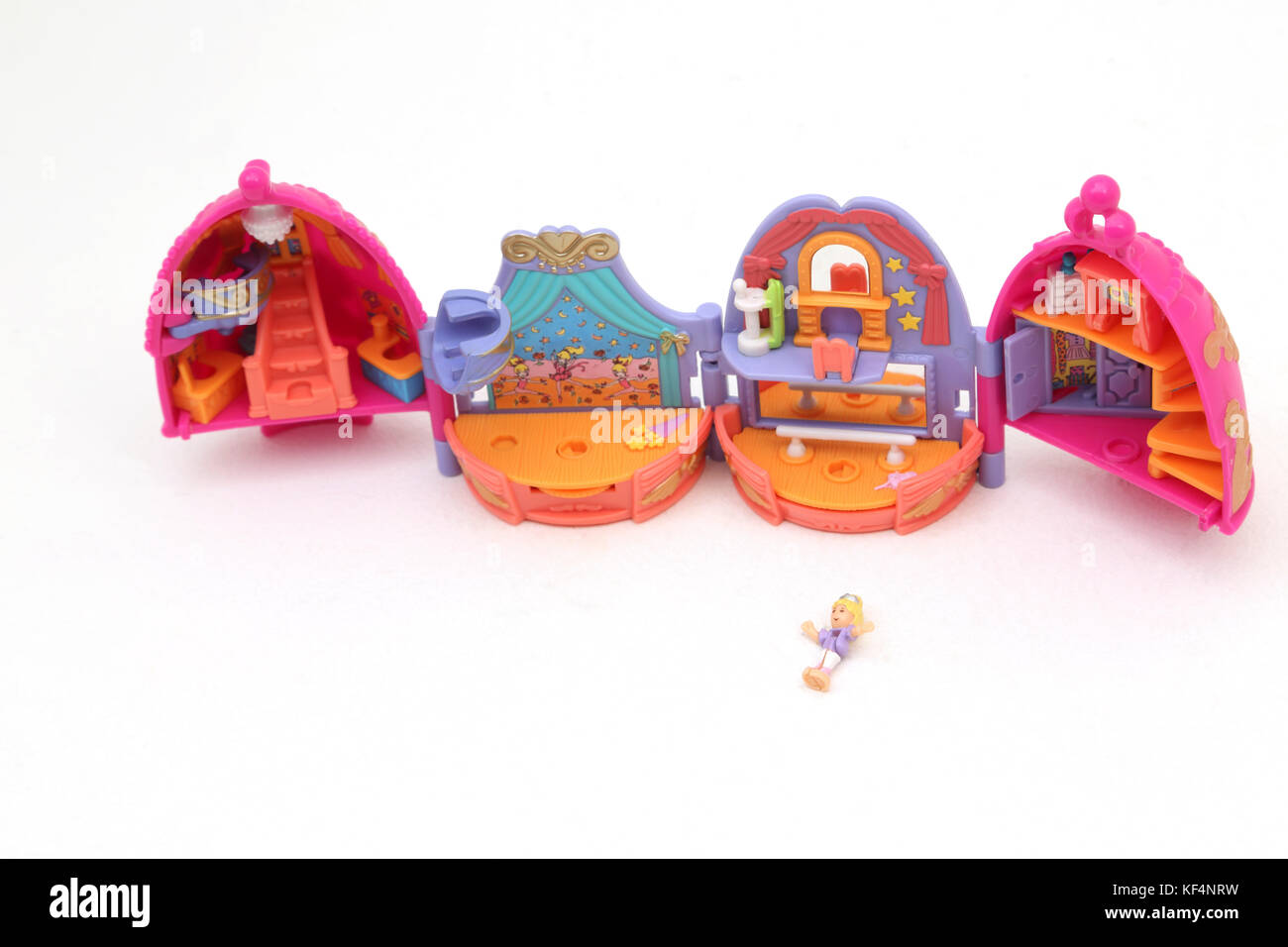 Vintage 1990's Toy Polly Pocket Sparkle Ballerina - Stock Image