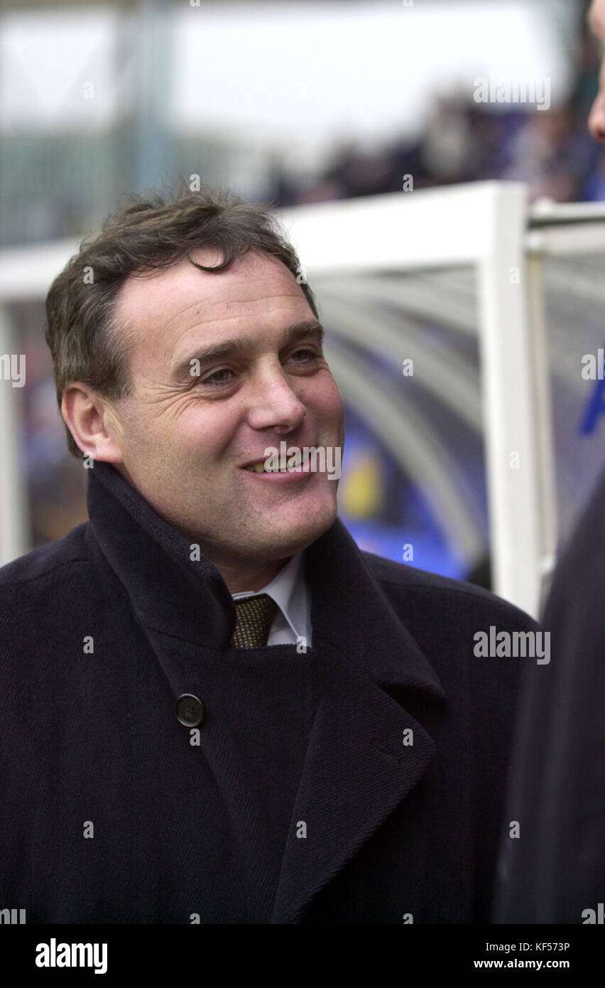 Stockport County manager Dave Jones 21/1/00 - Stock Image