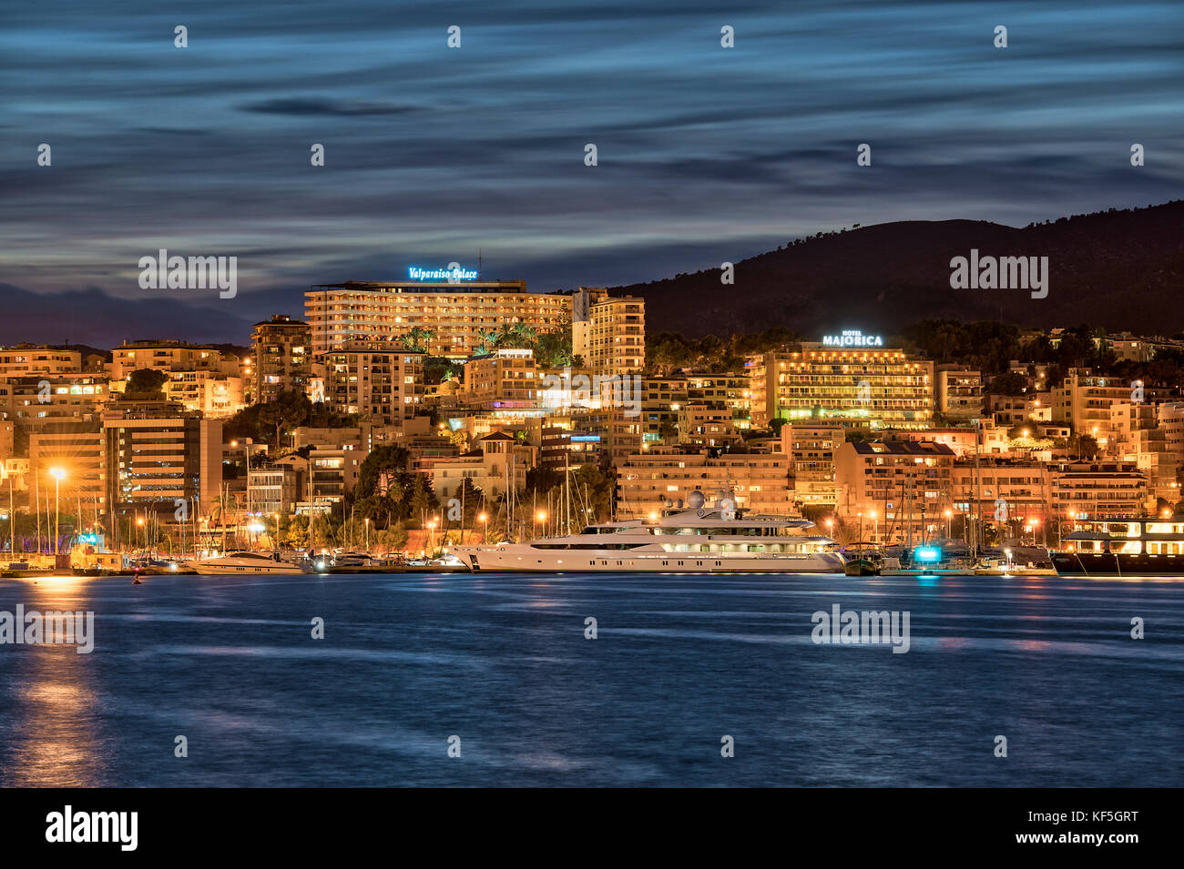 Palma de Mallorca, Balearic Islands,  Spain. - Stock Image