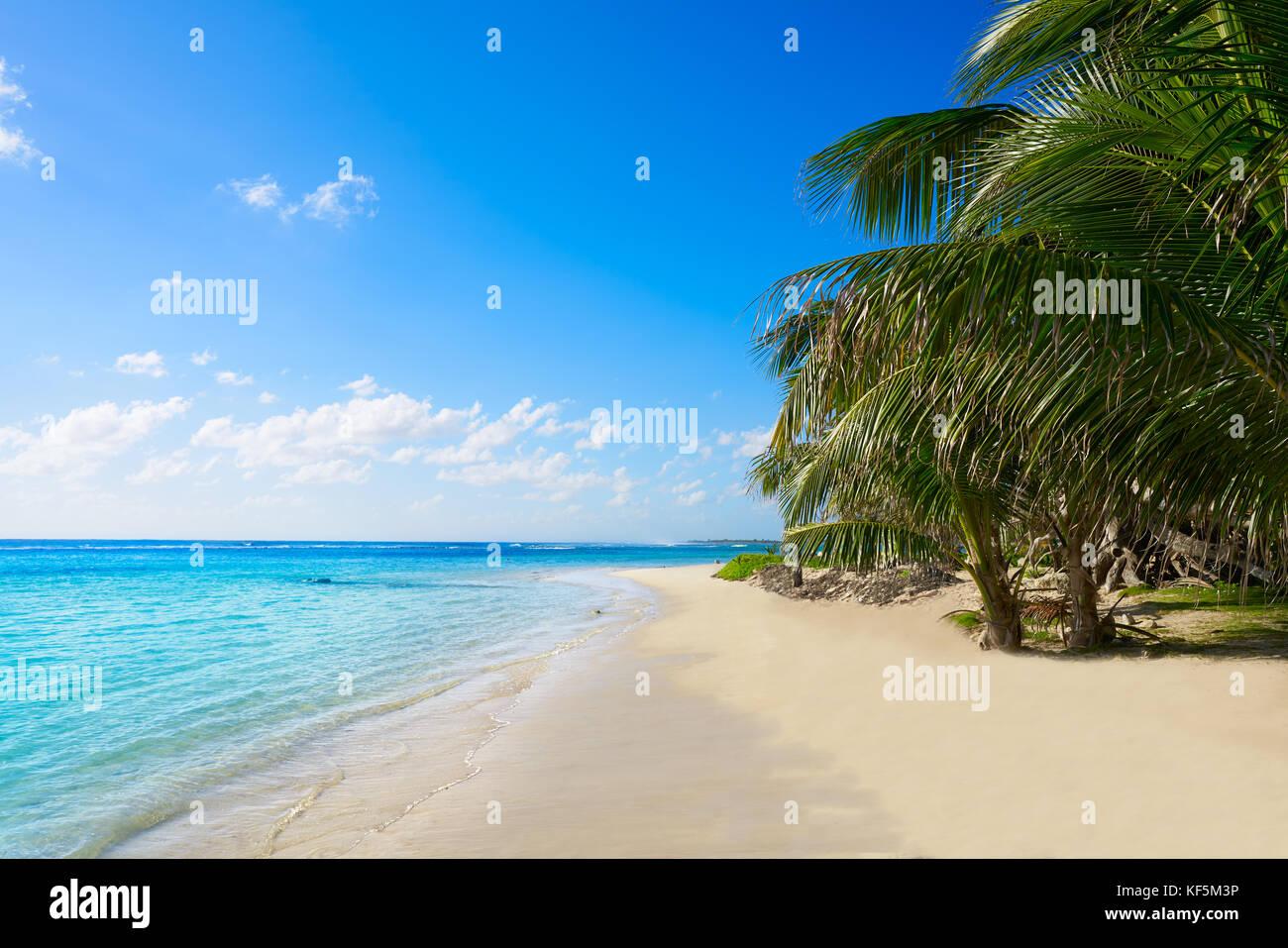Mahahual Caribbean Beach In Costa Maya Of Mayan Mexico Stock Photo Alamy