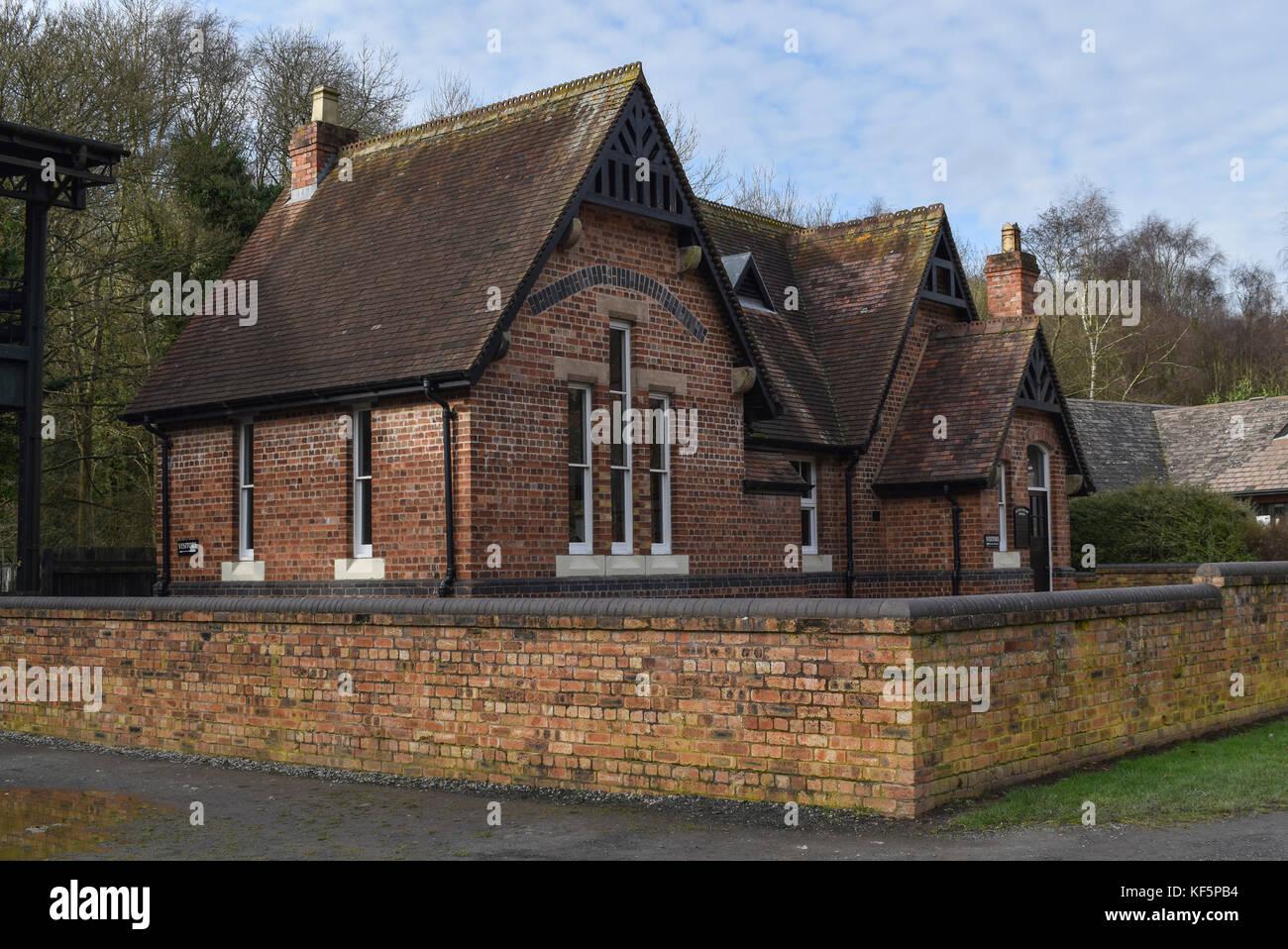 The School At Blists Hill Victorian Town Ironbridge Telford Shropshire UK