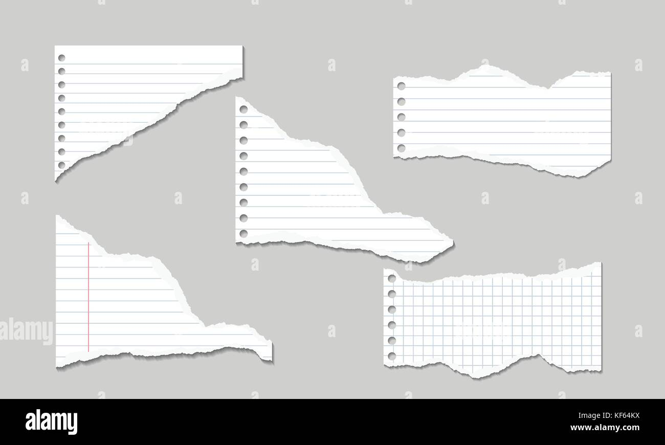 Lined Paper Torn Stock Photos & Lined Paper Torn Stock Images - Alamy