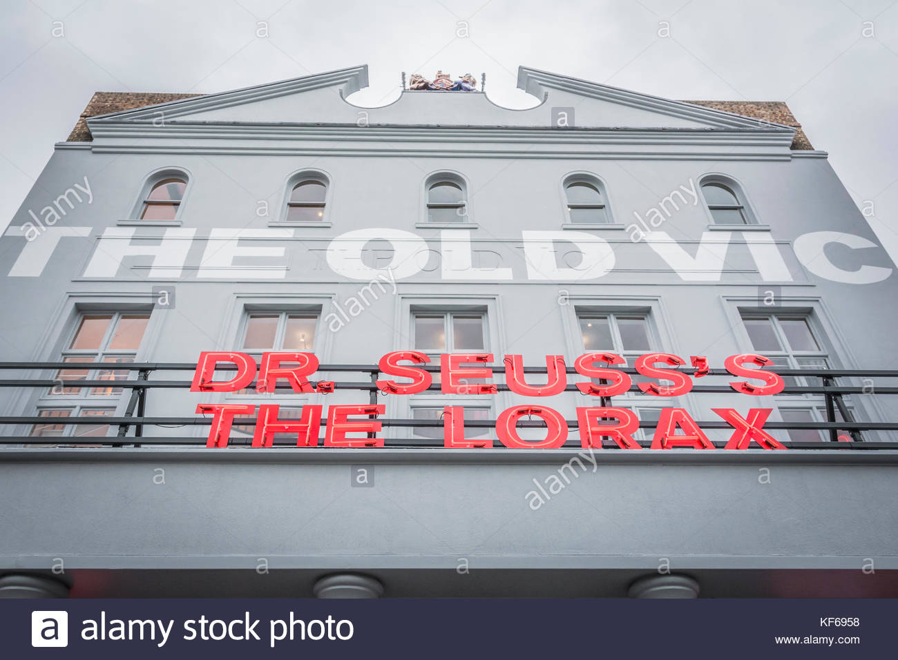 London, England, UK. 24 October, 2017.  The Opening Night of Dr Seuss's The Lorax at the Old Vic Theatre on - Stock Image