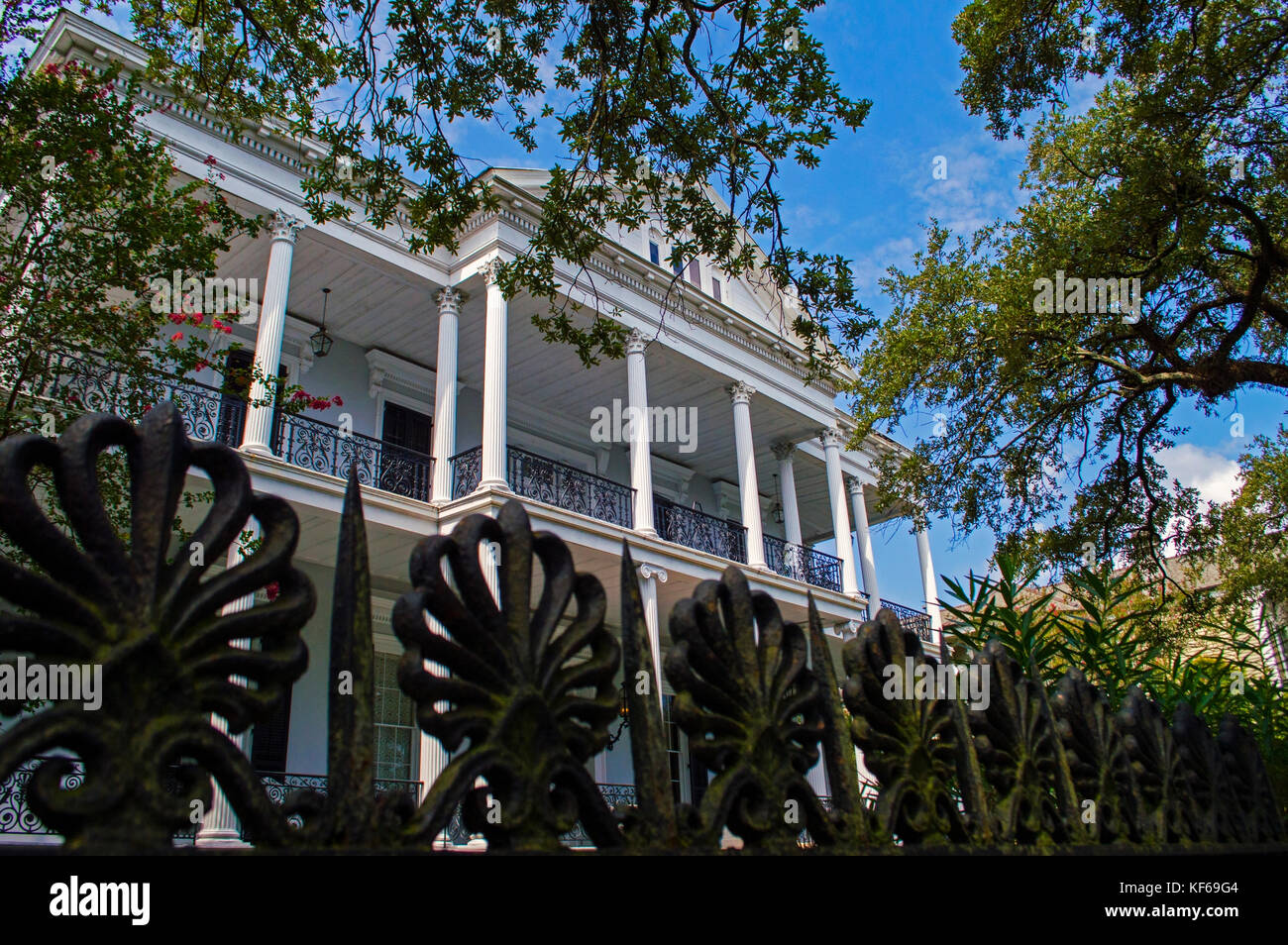 Coven House New Orleans - Stock Image