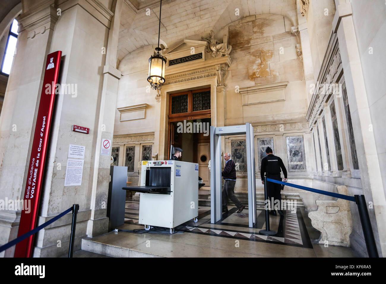 Paris, France. 25th Oct, 2017. Trial Merah, - 25/10/2017 - France/Ile-de-France (region)/Paris - Trial Merah, Credit: Stock Photo