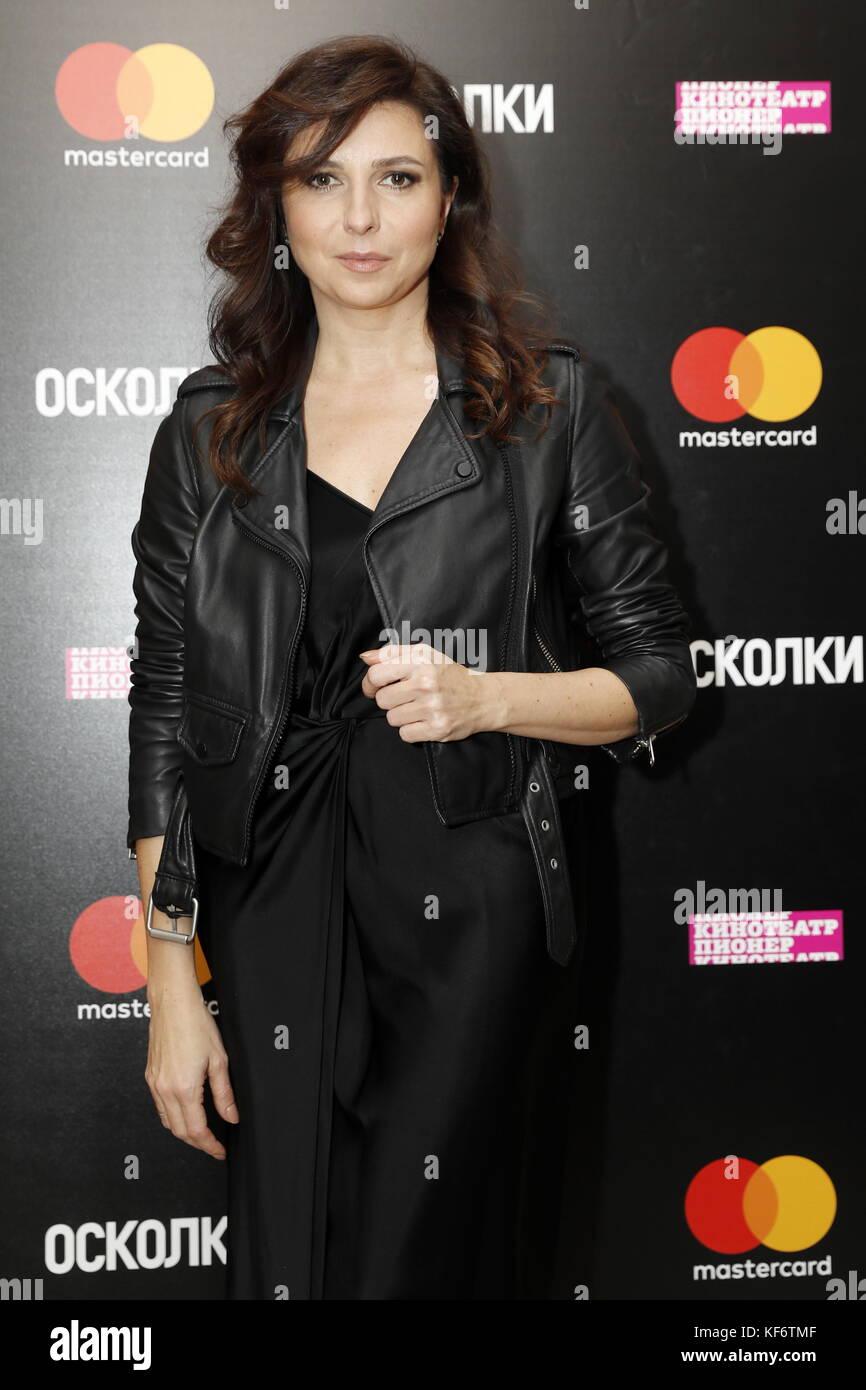Alisa Khazanova moscow, russia - october 25, 2017: actress, film director
