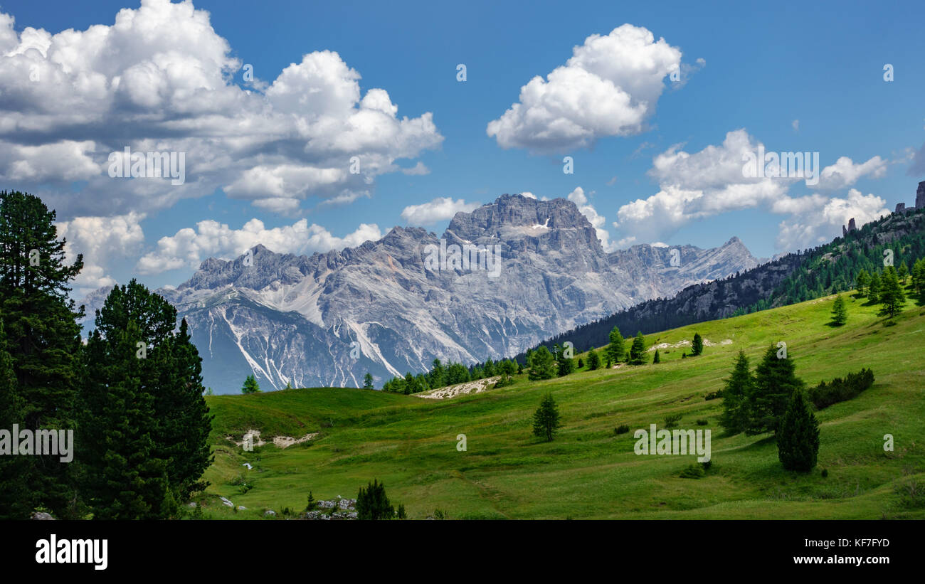 Dolomiti alps in Italy Stock Photo