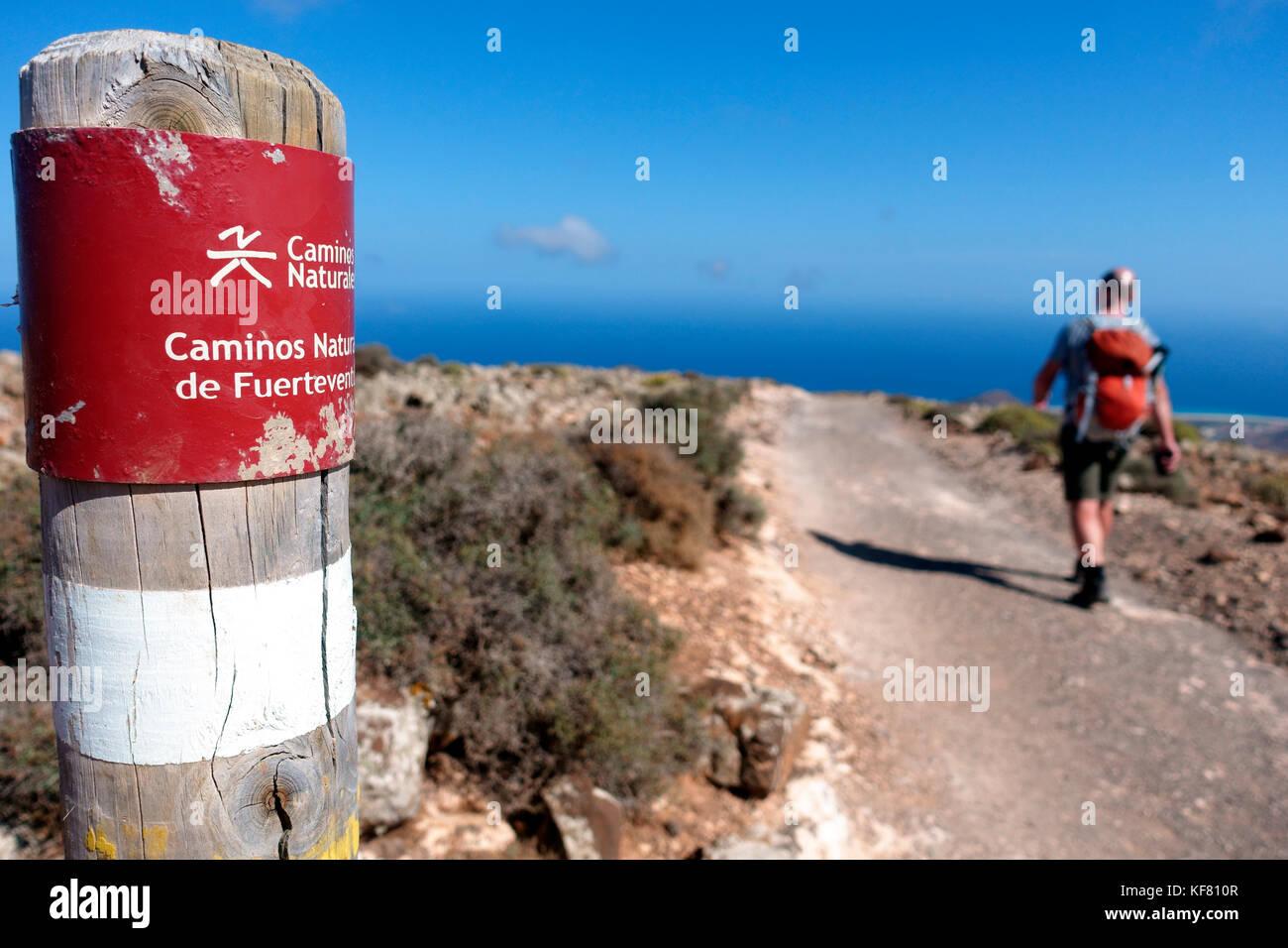 Pico de la Zarza, Fuerteventura Stock Photo