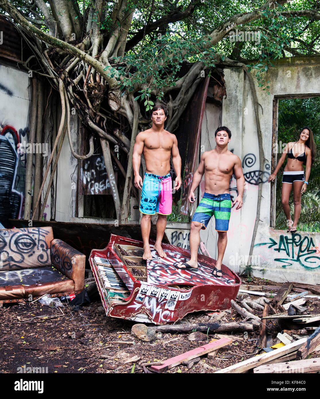 Abandoned Buildings In Oahu: Kyla Tipps Stock Photos & Kyla Tipps Stock Images