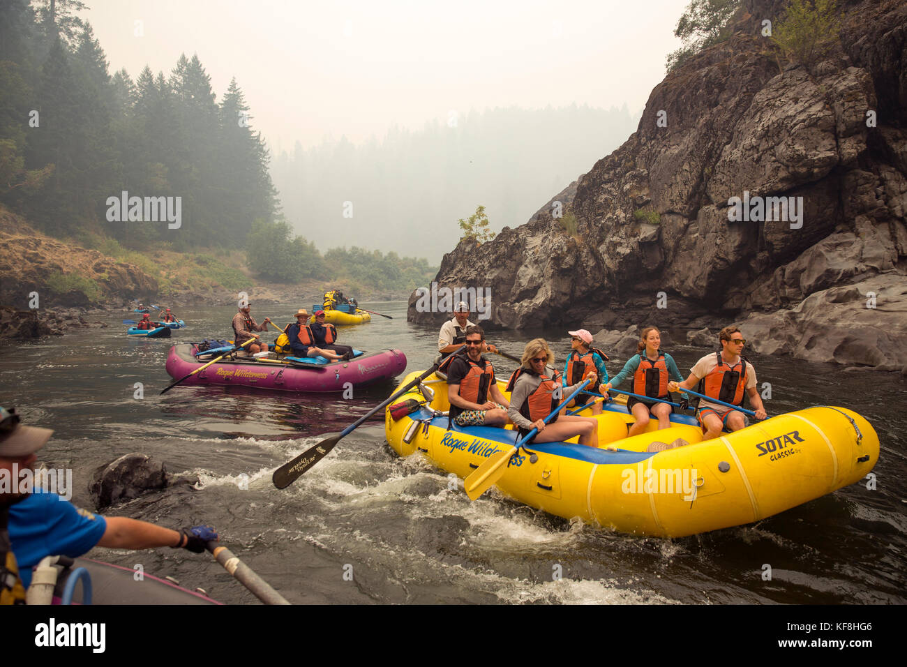 ROGUE RIVER WHITEWATER RAFTING & FISHING TRIPS