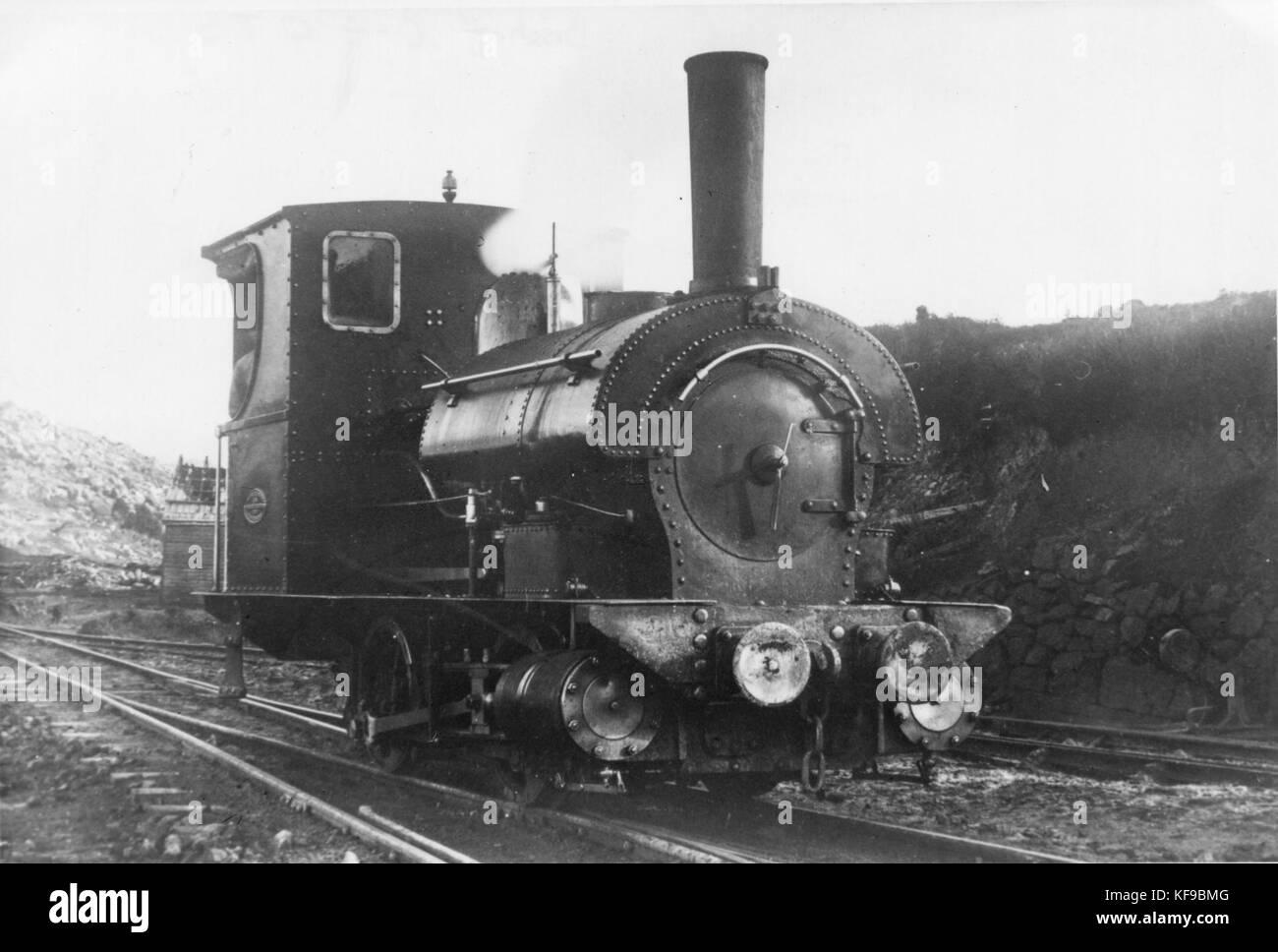 Mt Bischoff 3ft gauge Beyer Peacock 0 4 0ST (11620352593) - Stock Image