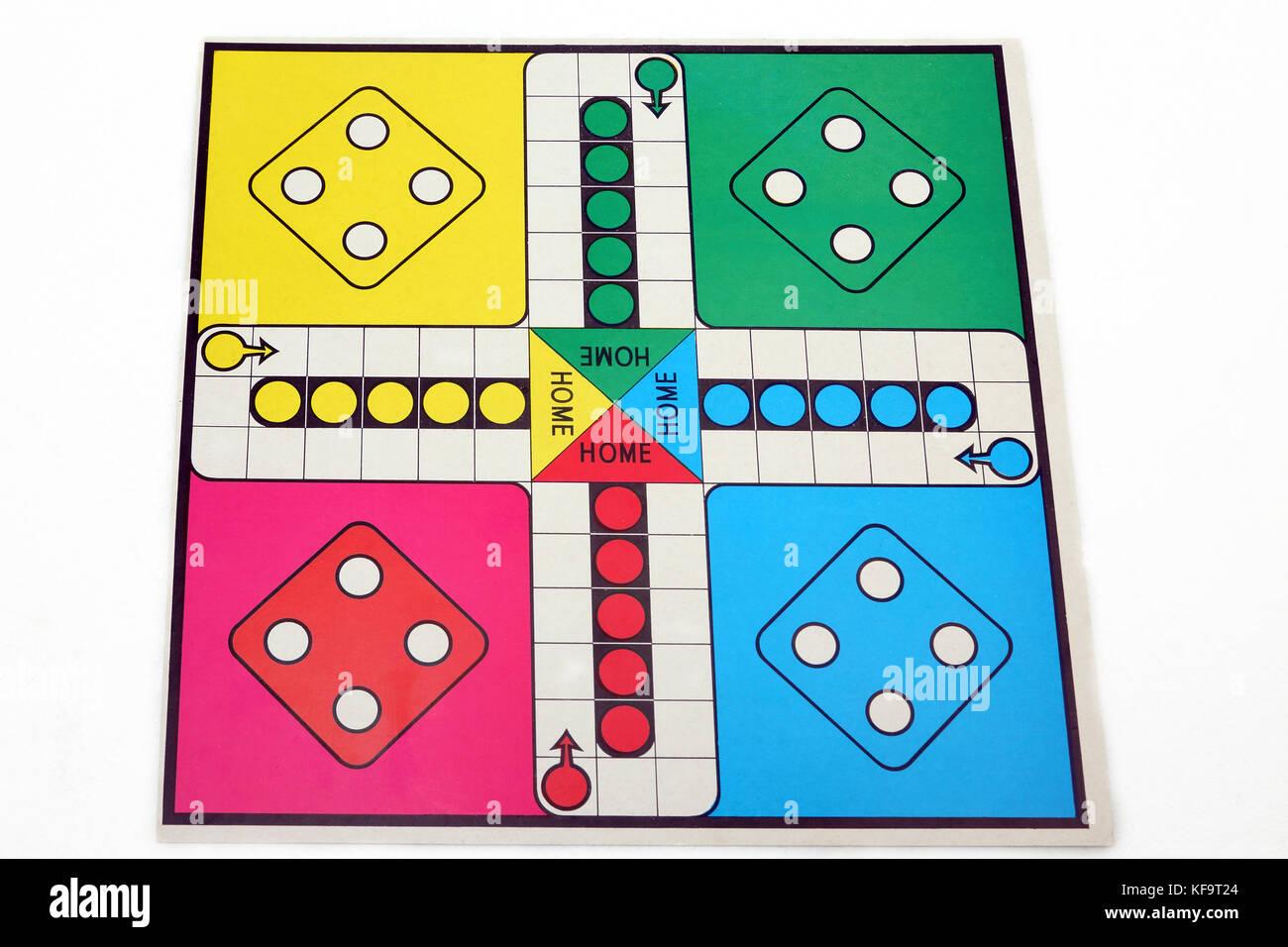 Ludo Board Game - Stock Image