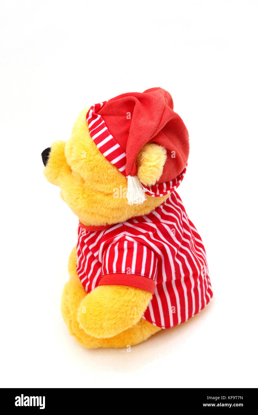 Disney's Winnie The Pooh In Night Clothes Soft Toy Stock Photo
