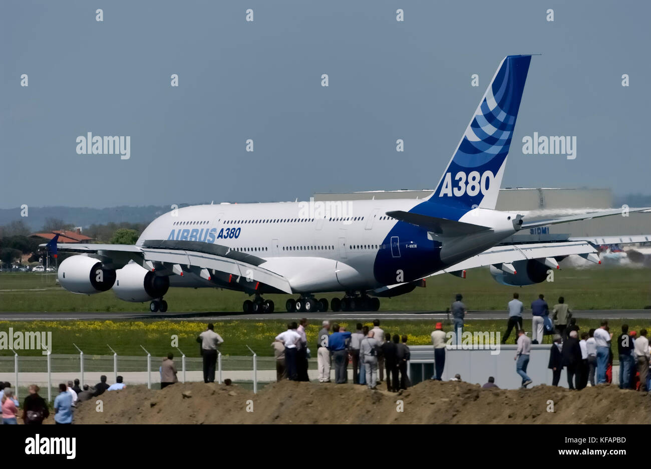 Two prototype Airbus A380 aircraft will soon be added to the exposition of French museums 66