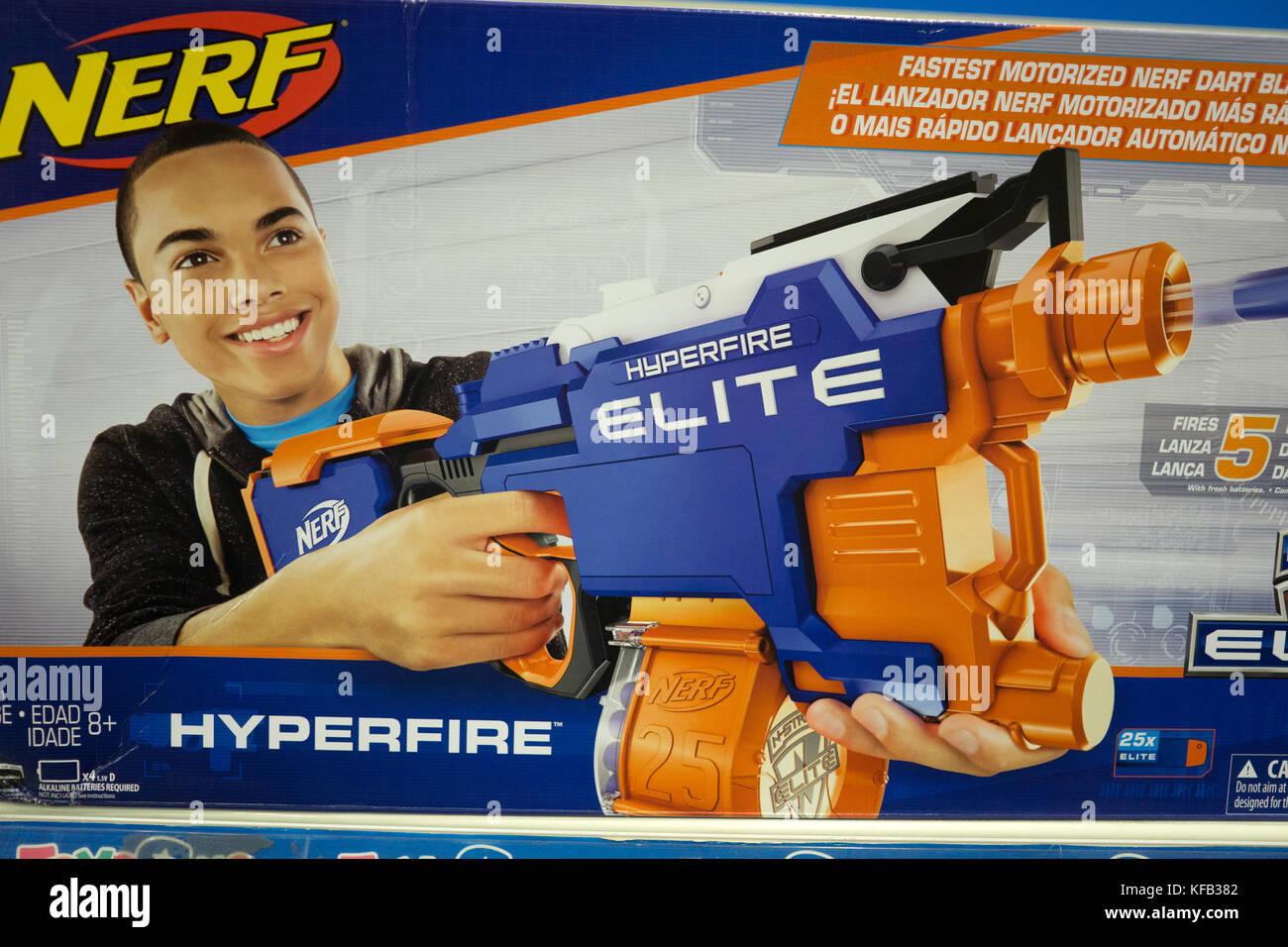 Toys R Us Nerf Guns : Dart gun stock photos images alamy
