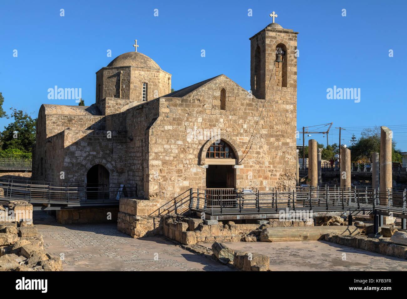 Agia Kyriaki Chrysopolitissa, Paphos, Cyprus - Stock Image