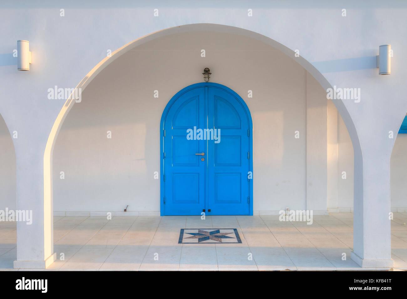Ayia Thekla Cave Chapel, Sotira, Agia Napa, Cyprus - Stock Image