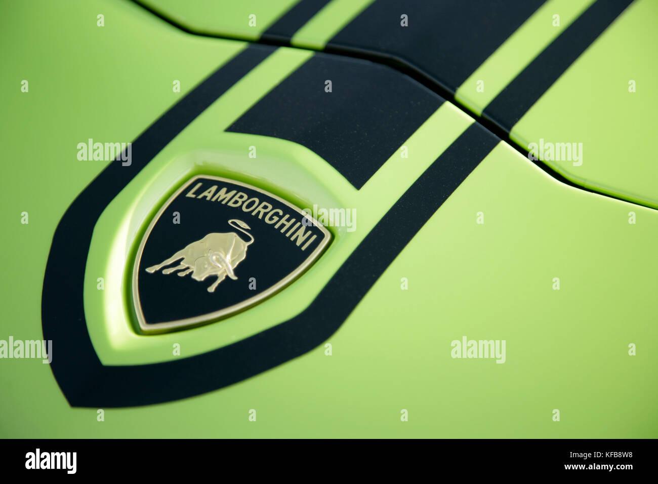 Lamborghini Bull Symbol Stock Photos Lamborghini Bull Symbol Stock