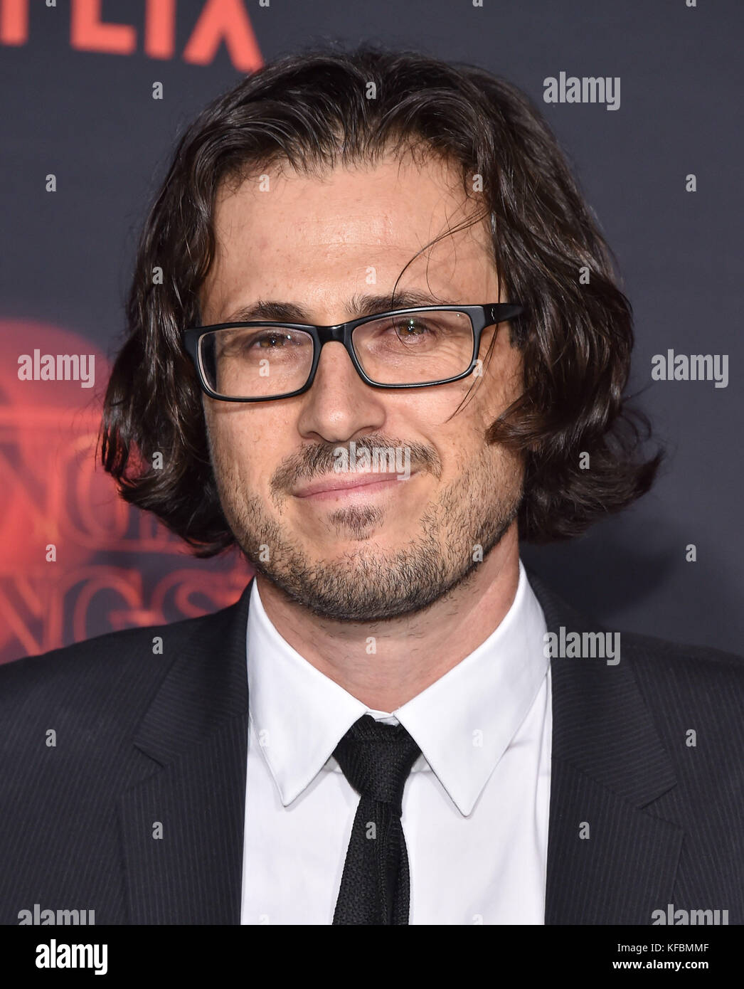Westwood, California, USA. 26th Oct, 2017. Dan Cohen arrives for the Netflix 'Stranger Things' 2 Premiere - Stock Image