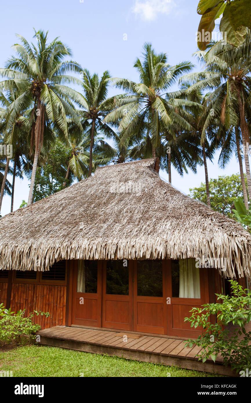 Polynesia Roof Society Stock Photos Polynesia Roof Society