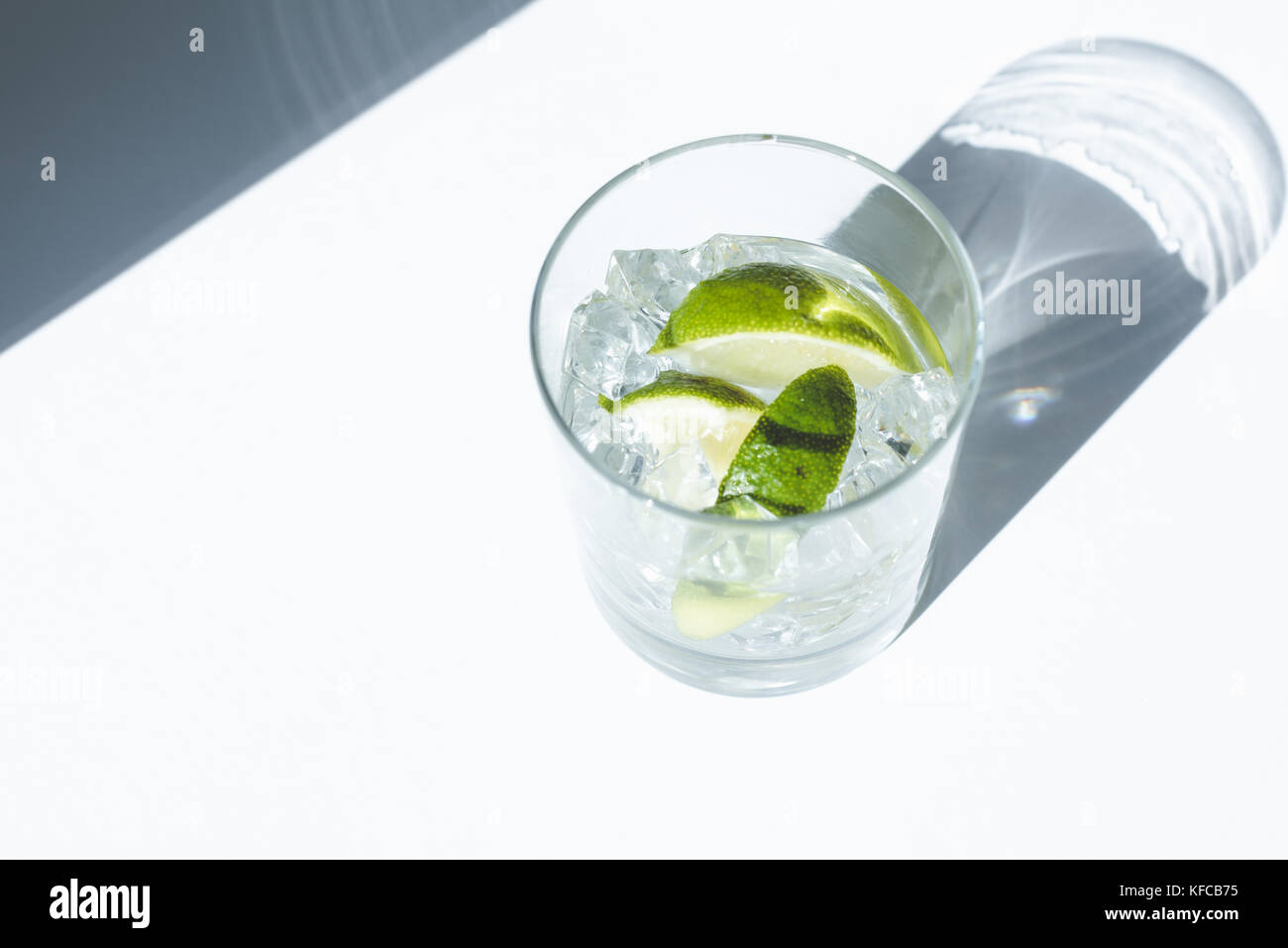 Gin Tonic cocktail  - Stock Image